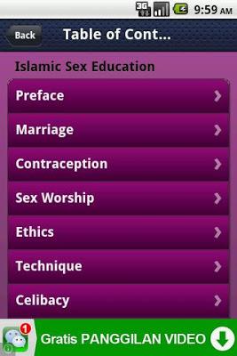 Free Islamic Sex Education - screenshot