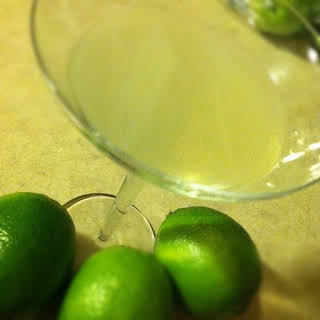 Key Lime Pie Martini for St. Patrick's Day.
