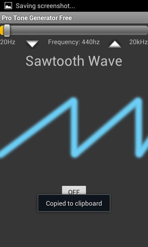 Tone Generator Pro Free- screenshot