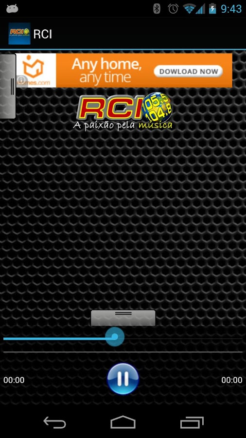 RCI - screenshot