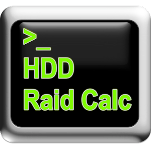 HDD/RaidCalc for Android