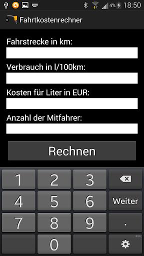 Fahrtkostenrechner