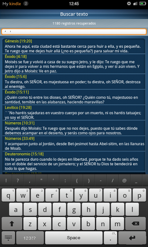 Biblia Sagrada - Lite - screenshot