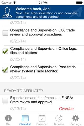 Securities America Transition