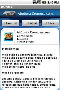 Nestlé Receitas - screenshot thumbnail