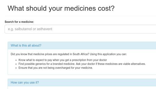 SA Medicine Prices