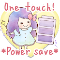 One touch!Battery-Saving girls icon