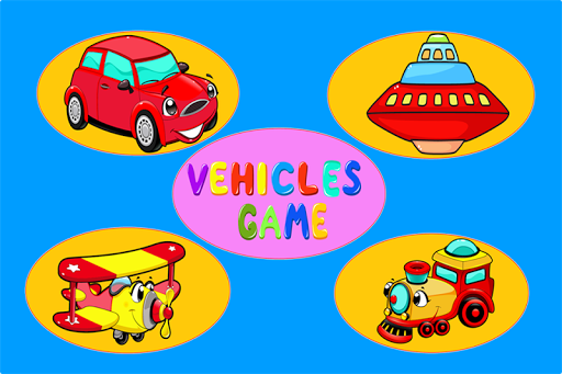 Vehicles Puzzle Game