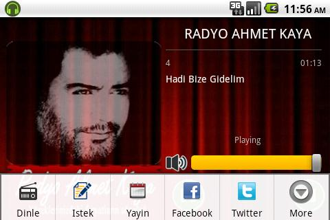 Radyo Ahmet Kaya - screenshot