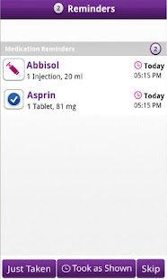 MedCoach Medication Reminder - screenshot thumbnail