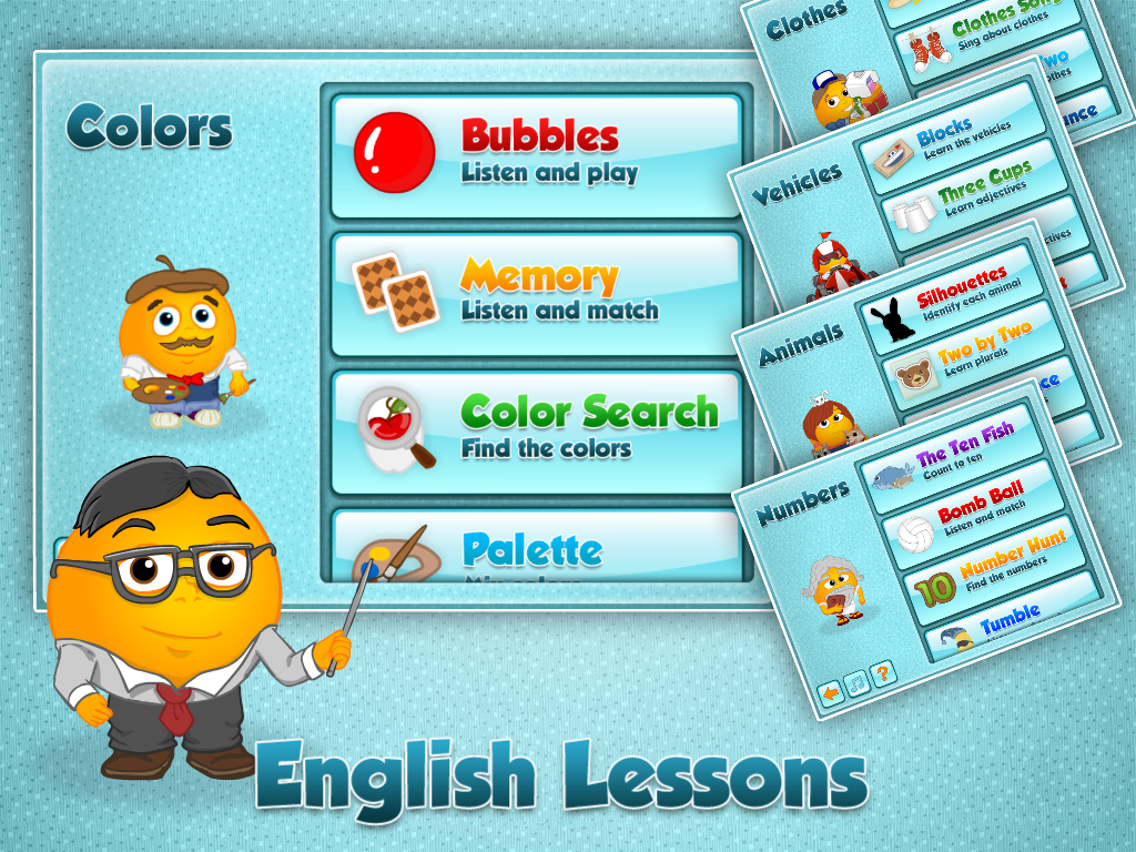 Fun English Learning Games - screenshot