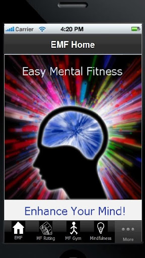 Easy Mental Fitness app