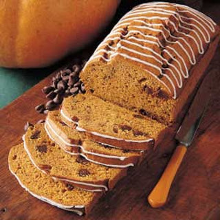 Pumpkin Chocolate Chip Bread.