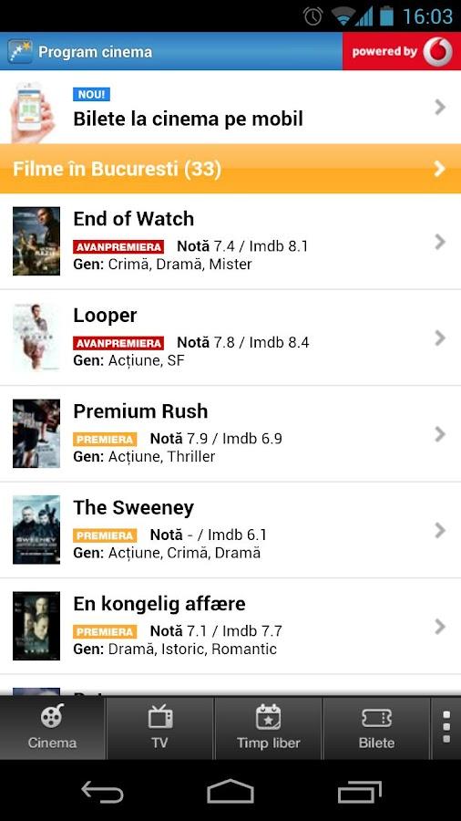 cinemagia program tv cinema android apps on google play. Black Bedroom Furniture Sets. Home Design Ideas