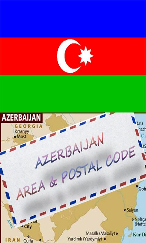 AZERBAIJAN AREA & POSTAL CODE- screenshot