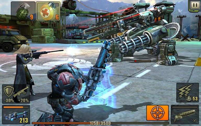 android Evolution: Battle for Utopia Screenshot 7