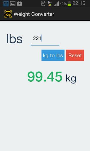 Weight Converter