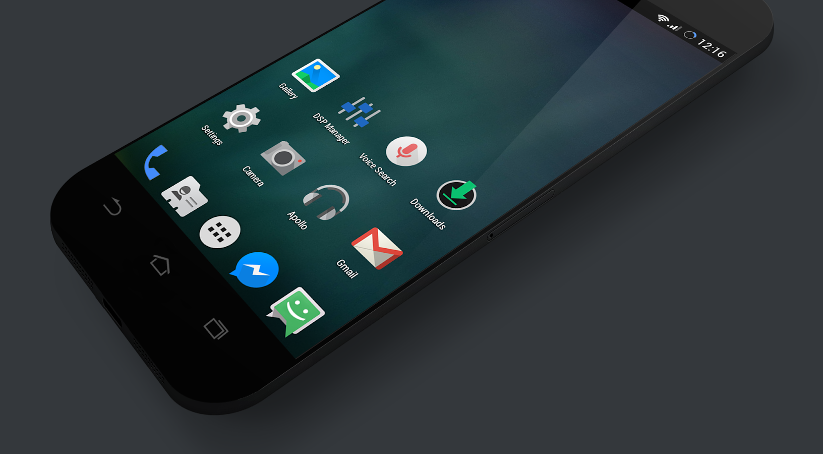 Mianogen - Launcher Theme- screenshot