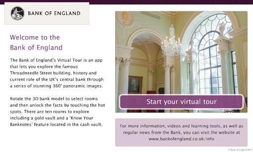 Bank of England Virtual Tour