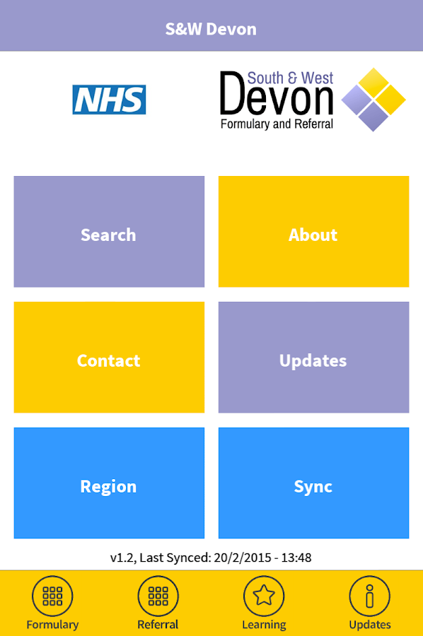 Devon Formulary & Referral- screenshot