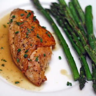Susan Spicer's Pan-Roasted Chicken Breast with Vinegar, Mustard, and Tarragon