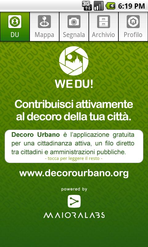 WeDU! Decoro Urbano - screenshot