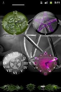 Pentacle Clock Widget- screenshot thumbnail
