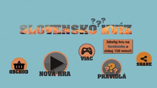 Slovensko kvíz