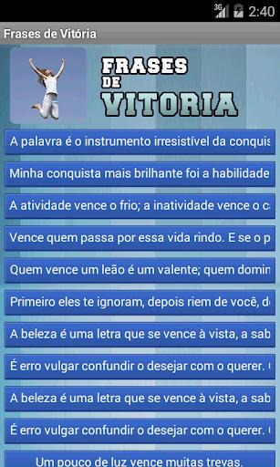 Frases de Vitória