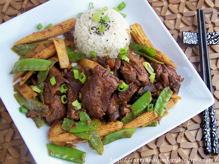 Crockpot Asian Barbeque Short Ribs
