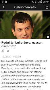 TuttoJuve- screenshot thumbnail