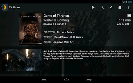 Plex for Android Screenshot 27