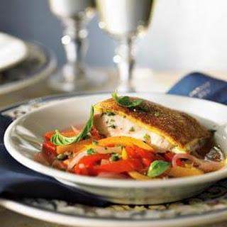 Bread-Crusted Fish.