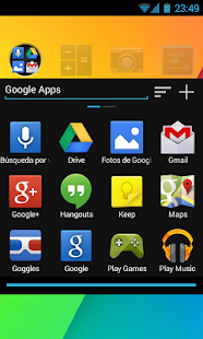 Jelly Bean Go Launcher Theme - screenshot thumbnail