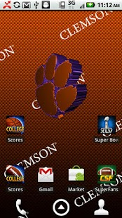 Clemson Live Wallpaper HD - screenshot thumbnail