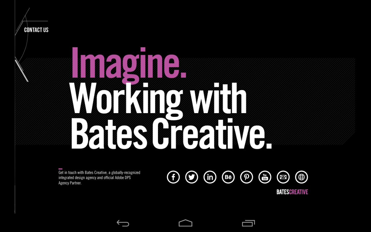 Bates Creative- screenshot