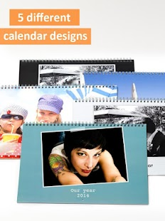 PhotoCal™ printed calendar- screenshot thumbnail