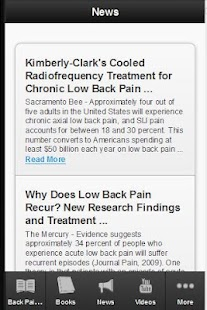 Back Pain Guide - screenshot thumbnail