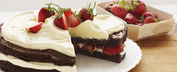 Strawberry Brownie Shortcake Recipe