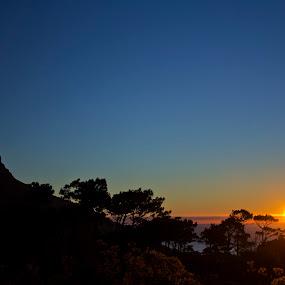 Sunset  by Reon Rich - City,  Street & Park  Vistas ( lion's head, sunset, signal hill, dusk, cape town,  )
