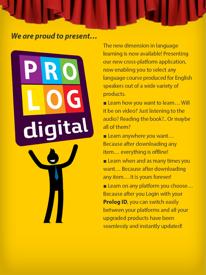 Prolog Digital Edition (en)- screenshot