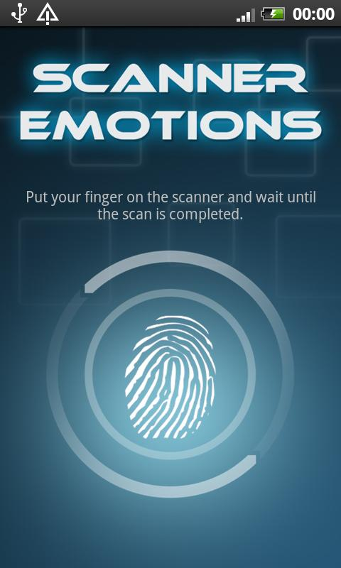 Mood Scanner - screenshot