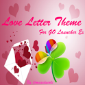 Love letter For GoLauncher Ex icon