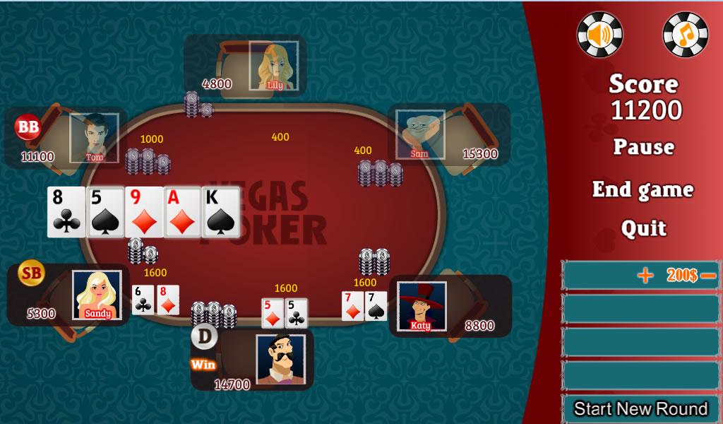 vegas poker free games