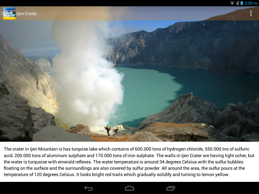 Discover Ijen Craters- screenshot