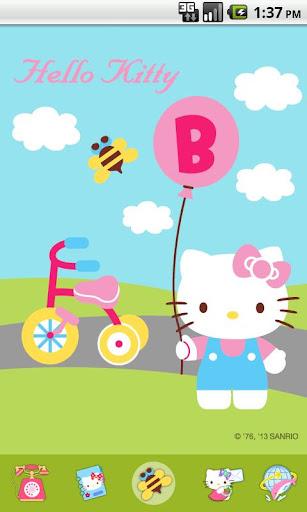 Hello Kitty Bike Theme
