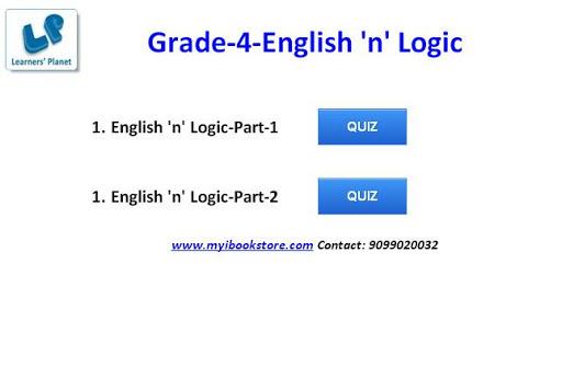 English 'n' Logic Grade-4