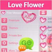 GO SMS Pro Love Flower