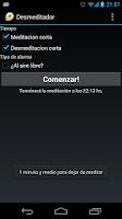 Screenshot of Unmeditator