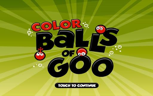 Color Balls Of Goo